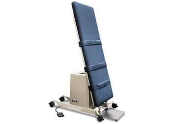 Hill PT Tilt Treatment Exam Table with Power Vertical to Horizontal Lift