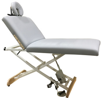 New Classic Series Elegance Lift Back Electric Massage Table