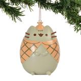 Enesco Detective Pusheen Hanging Ornament 2.5-inch Department 56 Mini-Ornament 4058304
