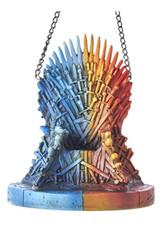 Kurt S Adler Fire and Ice Iron Throne Ornament Game of Thrones 6-Inch Resin Kurt S Adler Hanging Ornament