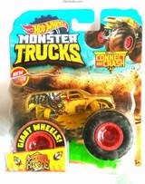 Hot Wheels 4 Wheel Hive Hot Wheels Monster Trucks Connect and Crash Monster Truck