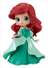 Disney Ariel Green Dress Q Posket The Little Mermaid Disney Princess Figurine by Banpresto
