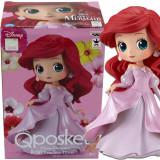 Disney Ariel Pink Dress Q Posket The Little Mermaid Disney Princess Figurine by Banpresto