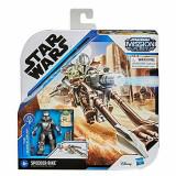 Star Wars Mandalorian Speeder Bike with Baby Yoda Star Wars Mission Fleet Expedition Class Vehicle