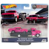 Hot Wheels 68 Dodge Dart Team Transport with Horizon Hauler Hot Wheels Series #25