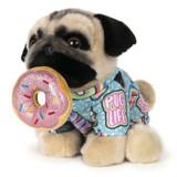 Gund Donut Doug the Pug 9-Inch GUND Plush 6059996