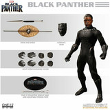 Marvel Black Panther One12 Mezco Toys Deluxe Marvel Action Figure