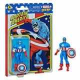 Marvel Captain America Marvel Retro Series 3.75 Inch Action Figure on Cardback