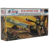 Atlantis Models M-46 Patton Tank 148 Scale Plastic Model Kit by Atlantis Models