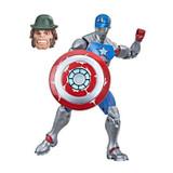 Marvel Civil Warrior with Shield Marvel Legends 6 Action Figure BAF Mr Hyde
