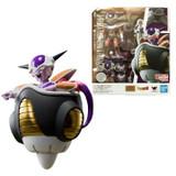 Bandai Frieza First Form and Frieza Pod Dragon Ball Z SHFiguarts Action Figure Set