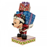 Disney Mickey with Presents Disney Traditions Figurine by Jim Shore 6008978