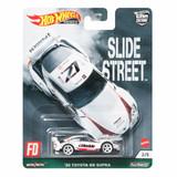 Hot Wheels 20 Totoya GR Supra Hot Wheels Car Culture Slide Street Case 957E 2 of 5