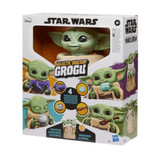 Star Wars Galactic Snackin Grogu Baby Yoda Star Wars Animatronic Toy Figure