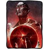 Marvel Avengers Age Of Ultron Big Red Earth Fleece Throw Blanket
