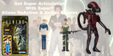 Super7 Aliens ReAction Figures from Keenga Toys