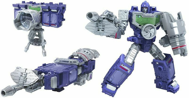 War for Cybertron Decepticon's NSA counter- Reflector (aka Refraktor) is here!