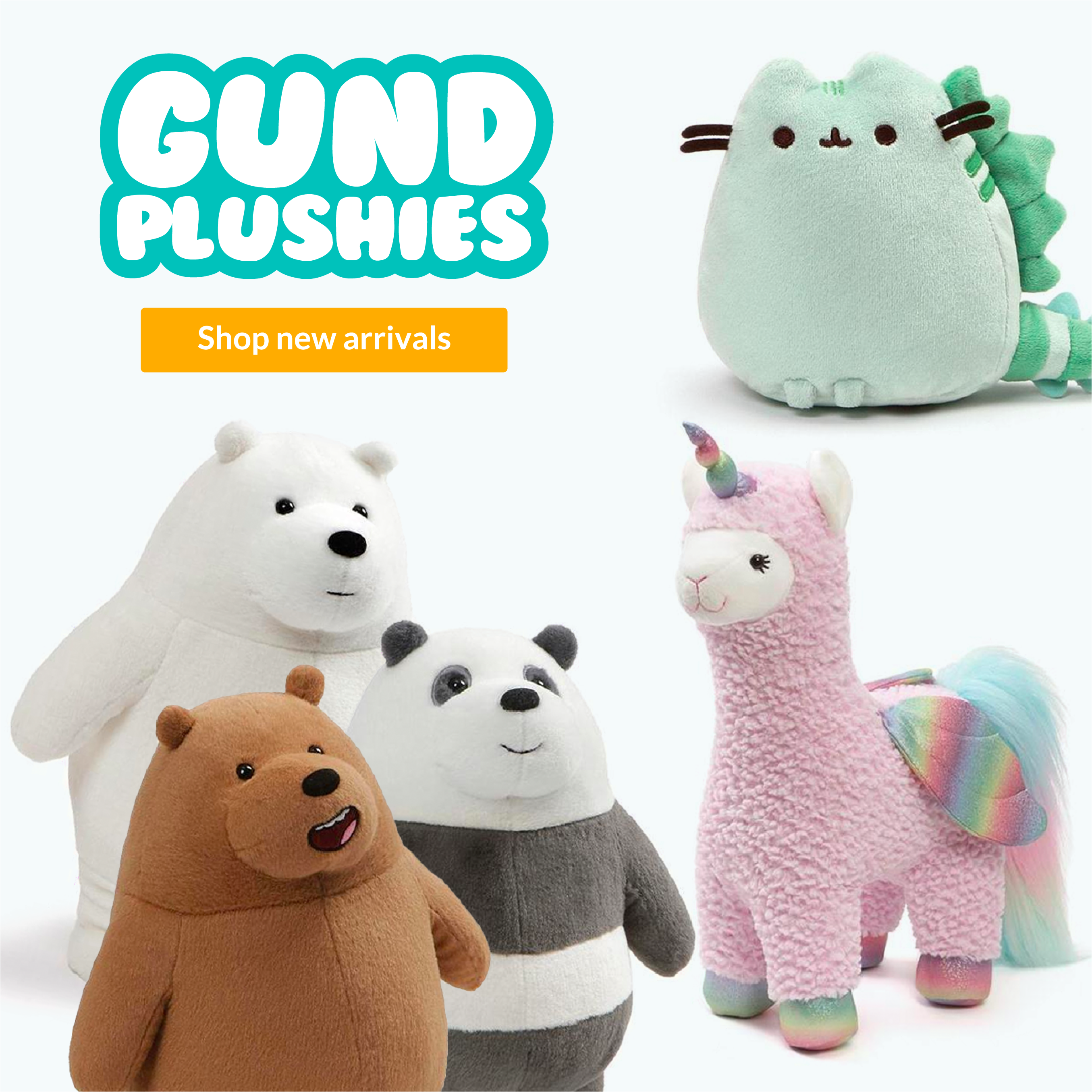 Gund Plush New Arrivals