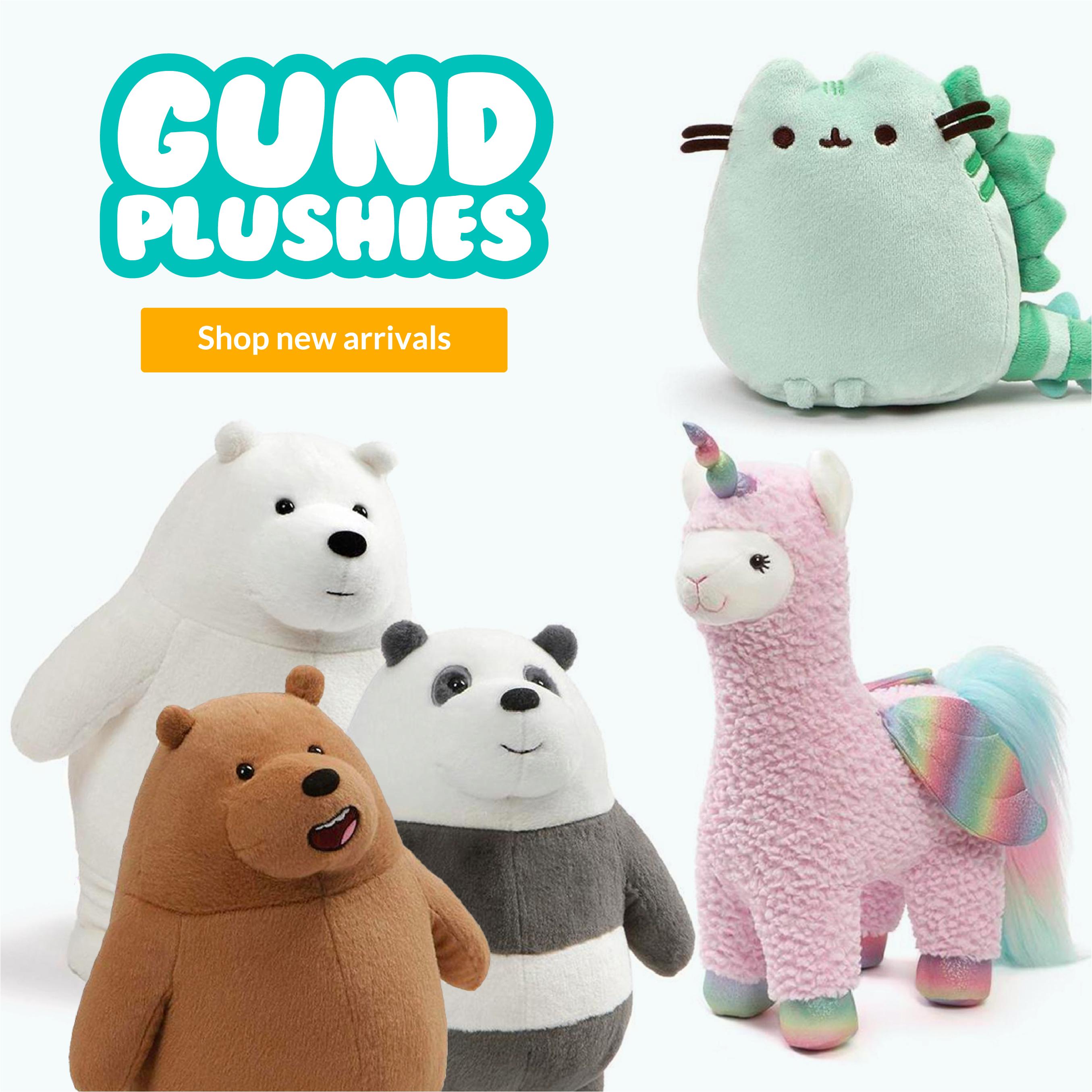 Gund Plush New Arrivals