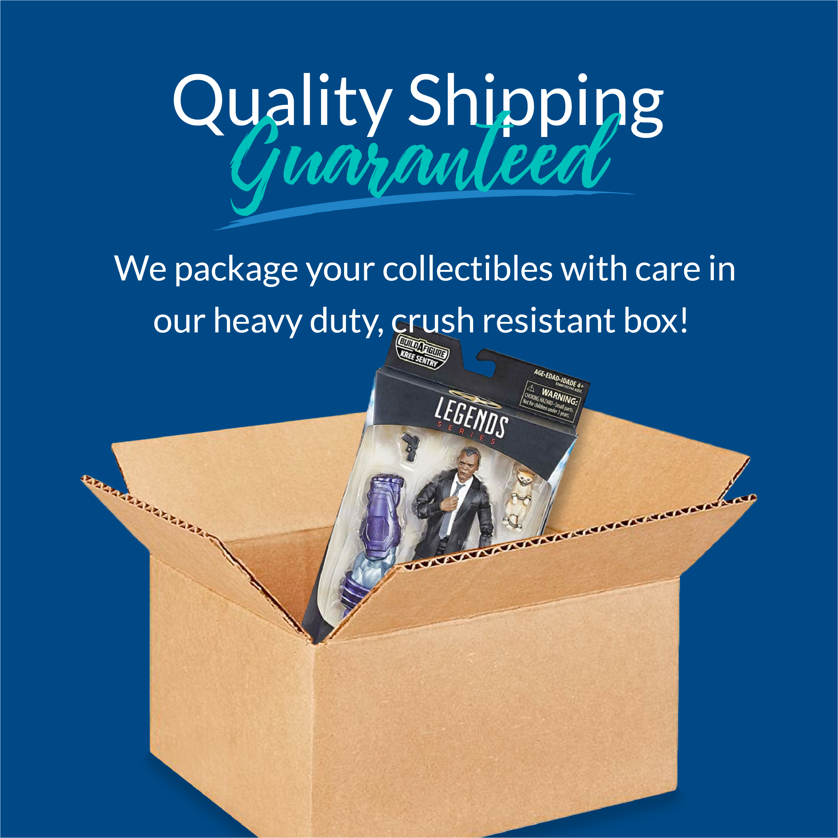 High Quality Collector Grade Shipping at Keenga Toys