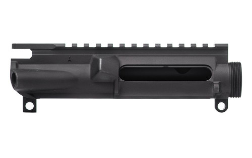 Stripped AR-15 Forged 7075-T6 Upper Receiver - Anodized Black