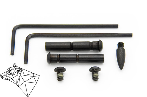 Bexar Arms Anti-Walk Hammer/Trigger Pins for AR15 and AR10