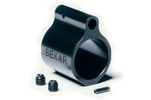 "BLEM .750"" Low Profile Set Screw Gas Block - Black Nitride"