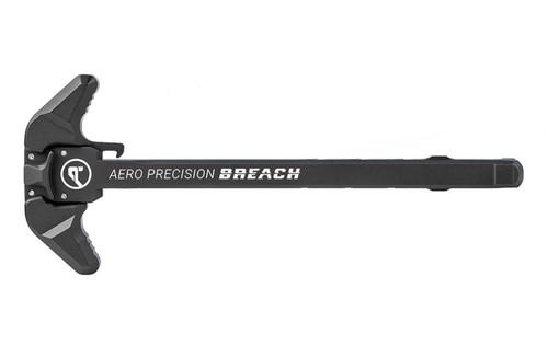 AR15 BREACH Ambi Charging Handle w/ Large Lever - Black