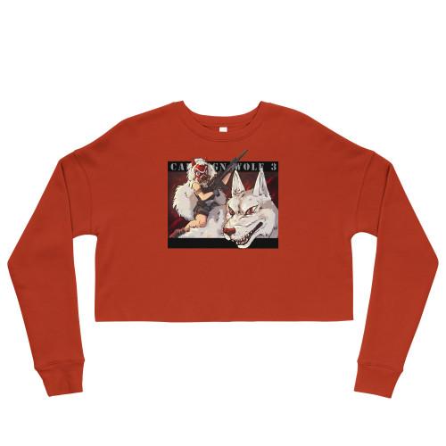 Callsign Wolf-3 Crop Sweatshirt - FREE Shipping!