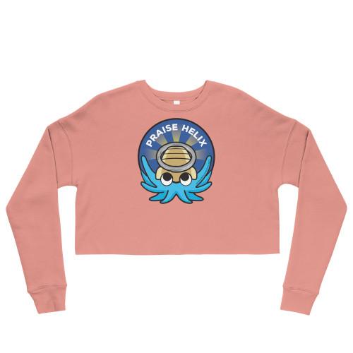 Praise Helix Crop Sweatshirt - FREE Shipping!