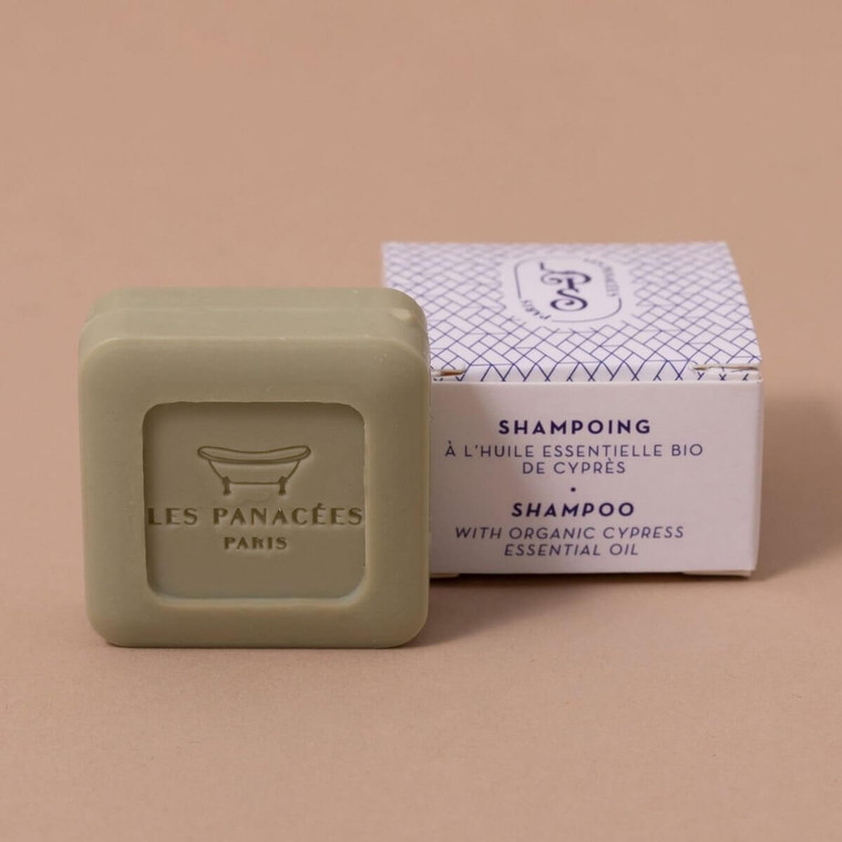 Vaste shampoo - Biologische etherische olie van Cypress - 25 gram