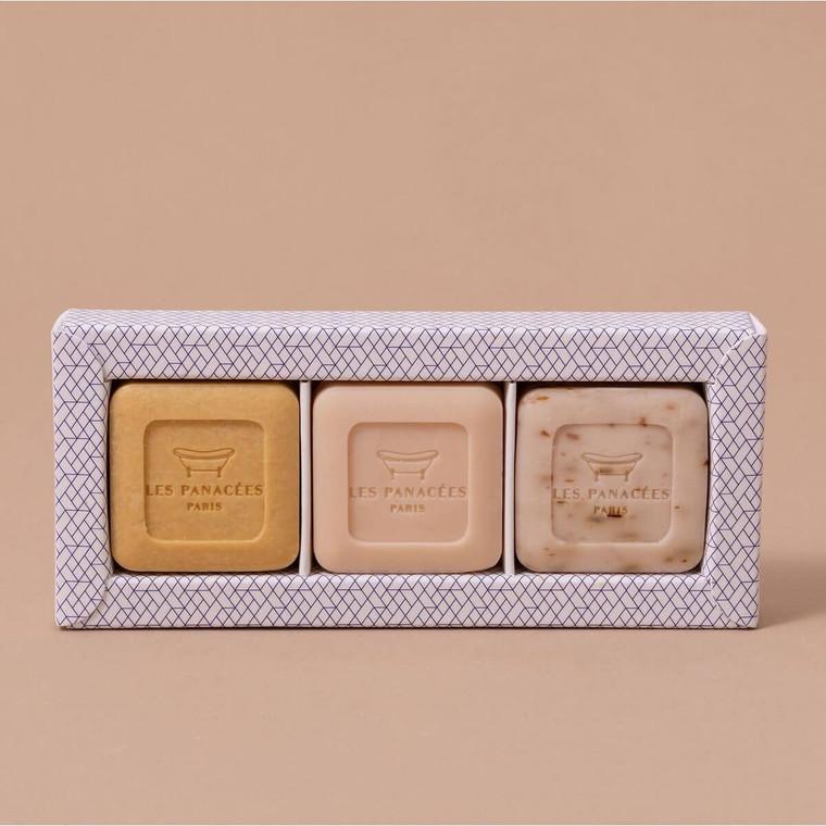 Les Panacées - Vaste zeep, shampoo en conditioner rozemarijn-assortiment
