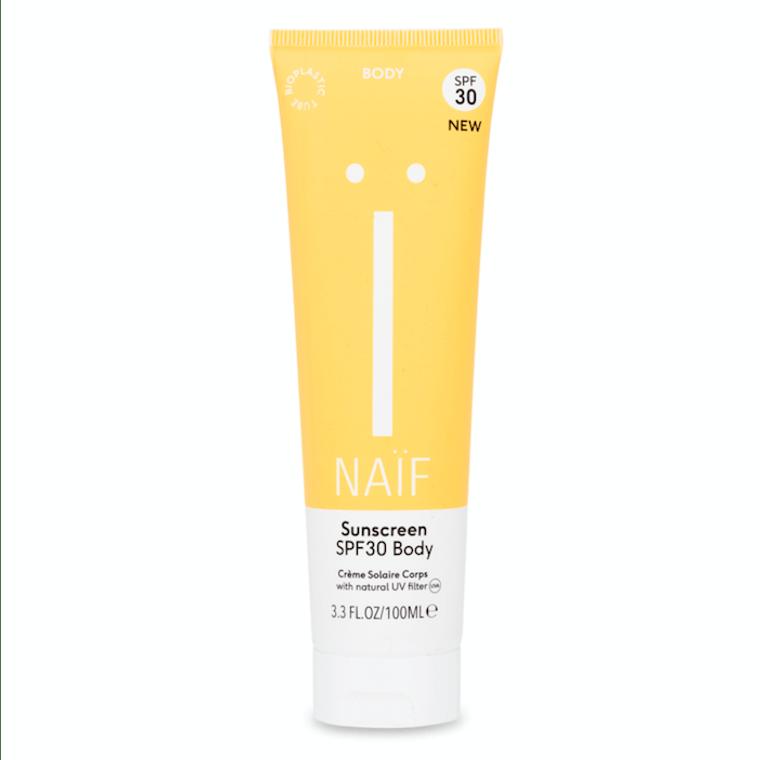 Naïf natuurlijke zonnebrandcrème body SPF30