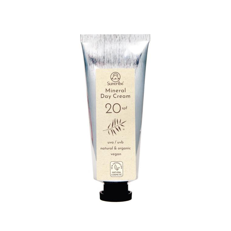 Suntribe Natuurlijke Minerale Dagcrème SPF 20 (40 ml) | No Nasties