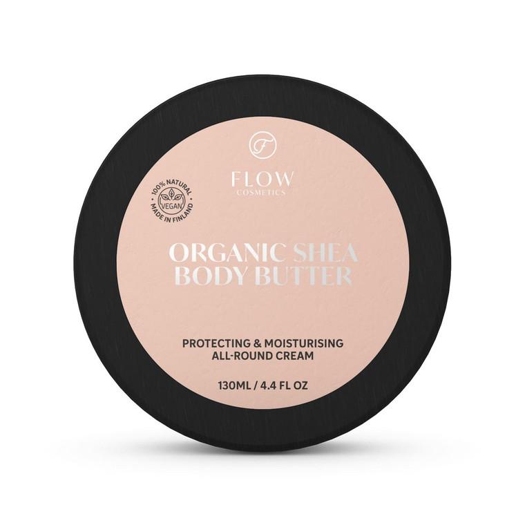 Organic Shea Body Butter - Flow Cosmetics   No Nasties