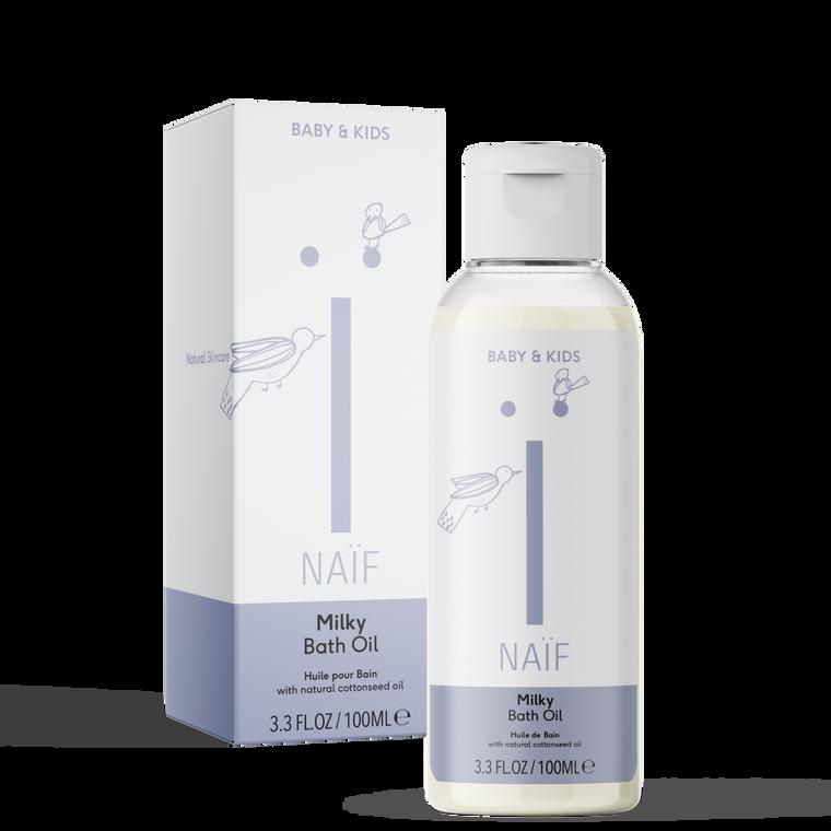 Naïf Milky Bath Oil   No Nasties