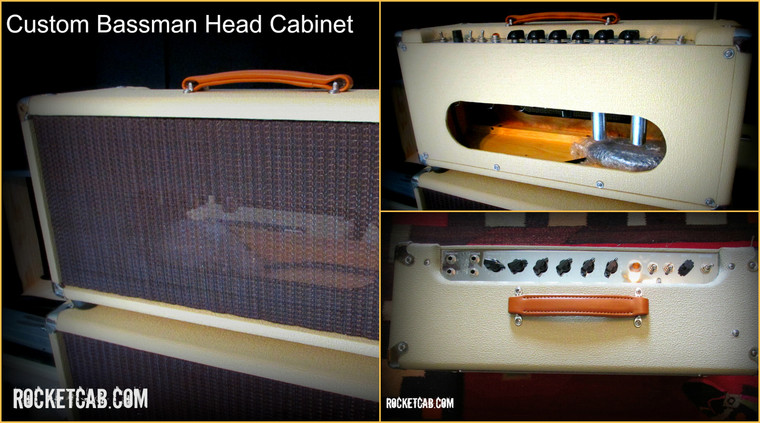 Custom Bassman Head cabinet