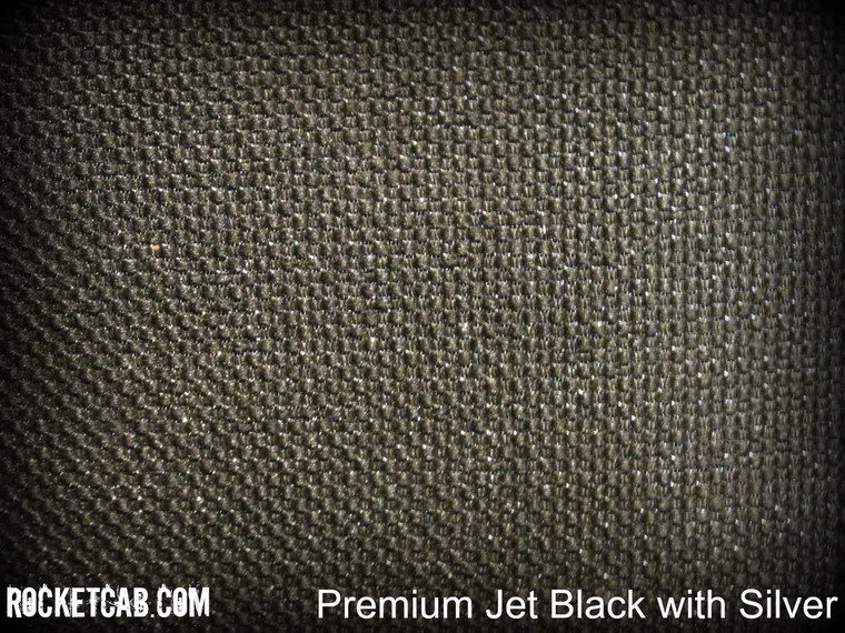 Premium Jet Black with Silver