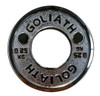 Goliath Calibrated Powerlifting Plate - 0.25kg (PAIR) Chromed