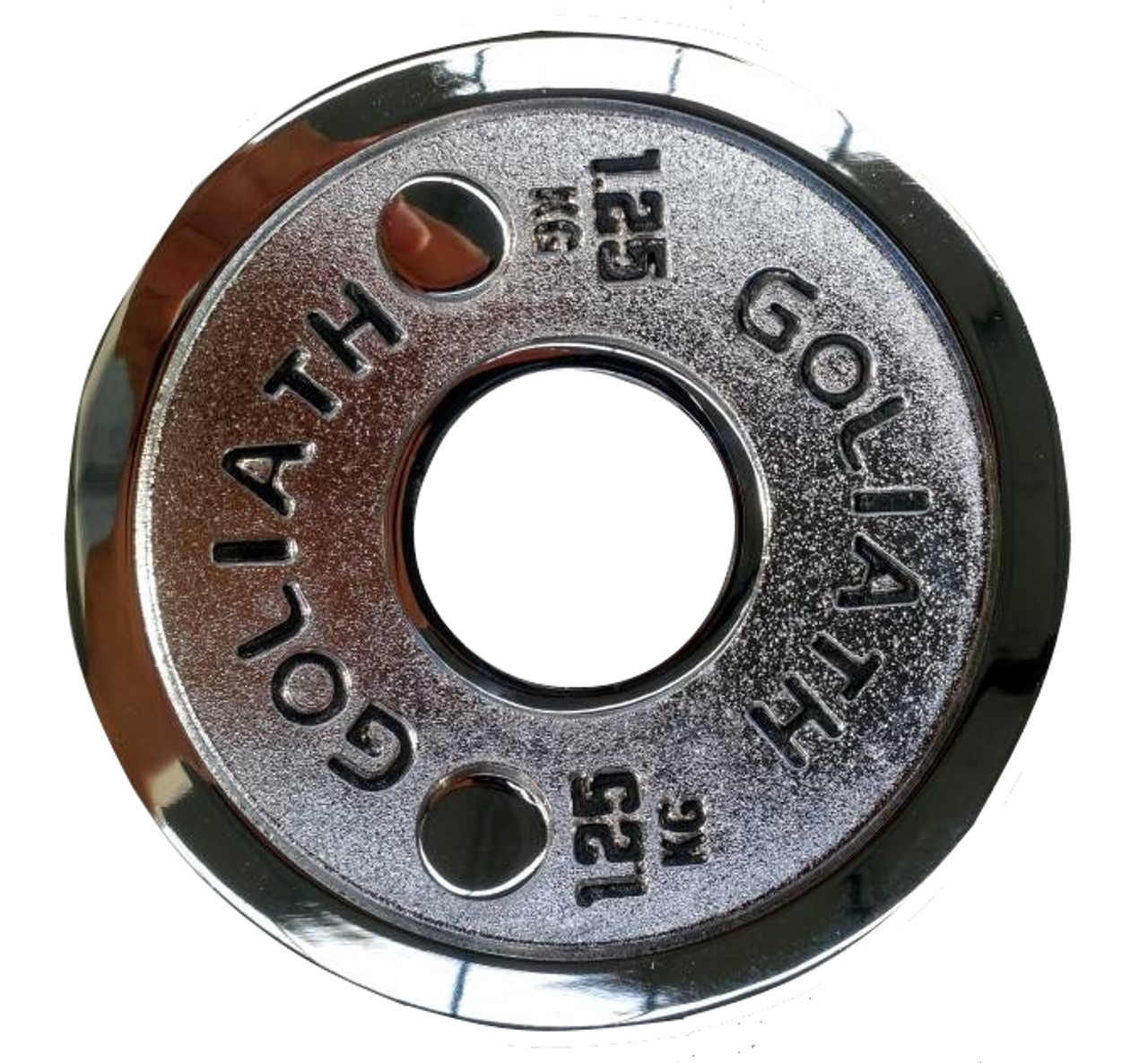 Goliath Calibrated Powerlifting Plate - 1.25kg (PAIR)
