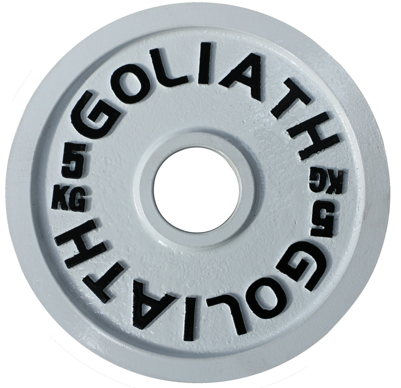 Goliath Calibrated Powerlifting Plate - 5kg (PAIR).