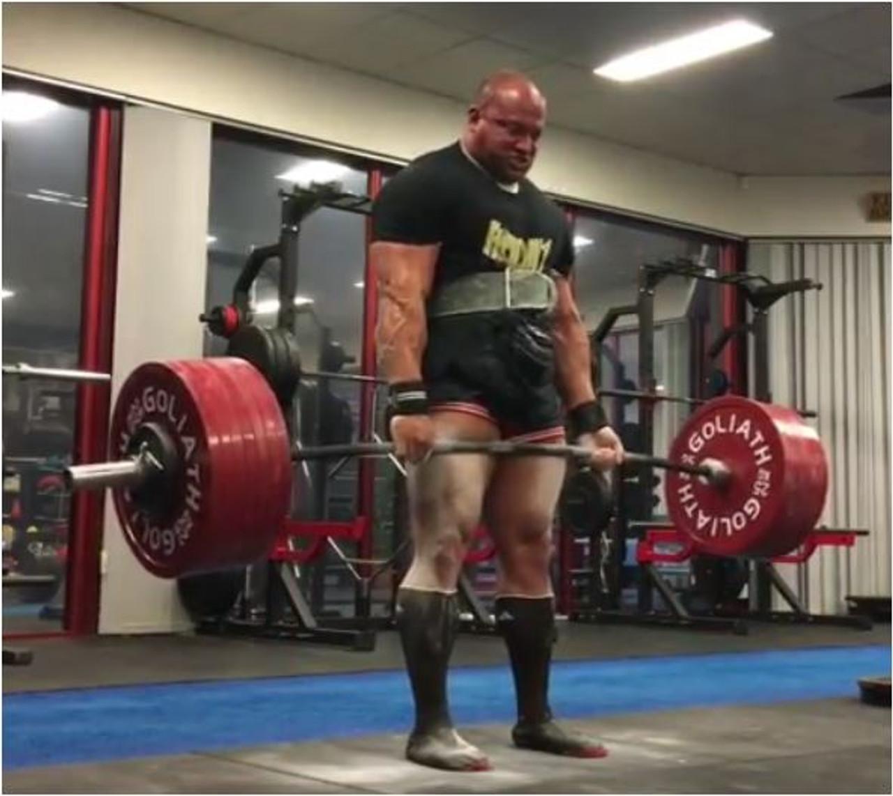 Eric Lillebridge 375kg