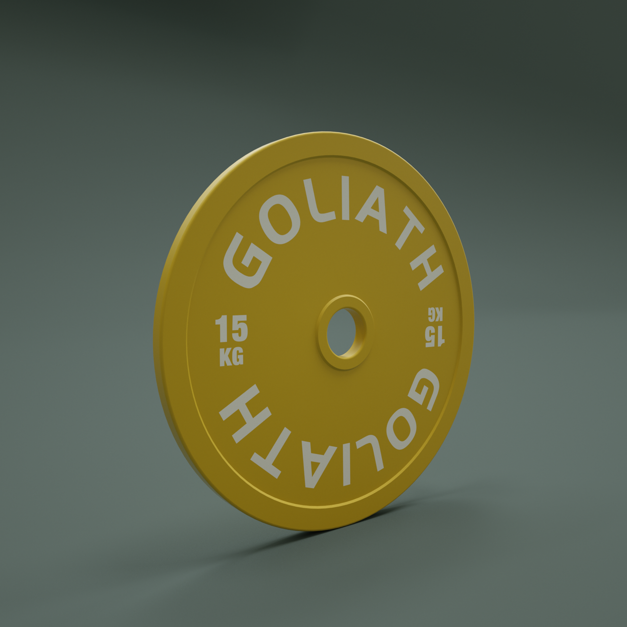 PRESALE OCTOBER - PRINTED LOGO - Goliath Barbell Calibrated Plates 459kg Set - BUY THE SET AND SAVE - PRINTED LOGO