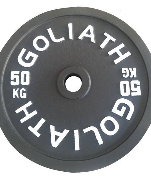 Goliath Calibrated Powerlifting Plate - 50kg (PAIR) - LIMITED STOCK