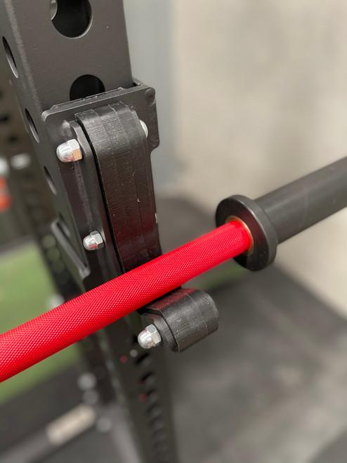 PRESALE AUG 2021 - Goliath Power Bar - RED Cerakote / Black sleeves - 20kg