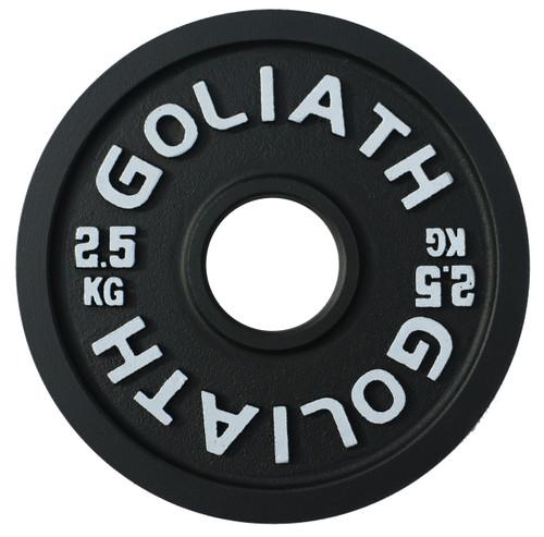 PRESALE - Goliath Calibrated Powerlifting Plate - 2.5kg (PAIR)