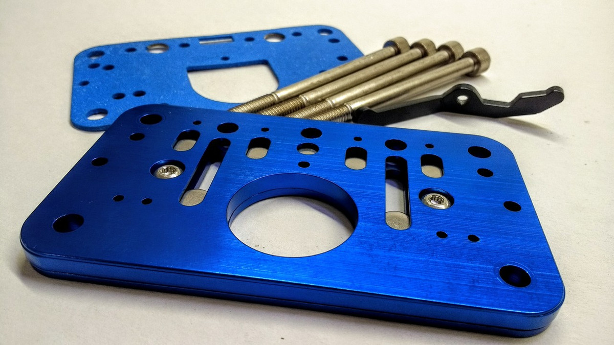 Willy's Rollover Plate Kit - 2 Barrel Carb