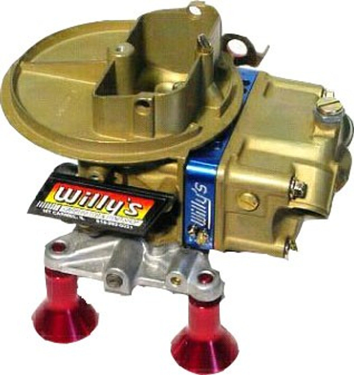 Willy's 500 CFM Alky Carb w/ ext adj block