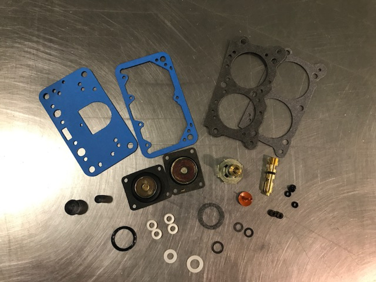 Willy's 2 Barrel Master Rebuild Kit- Alcohol