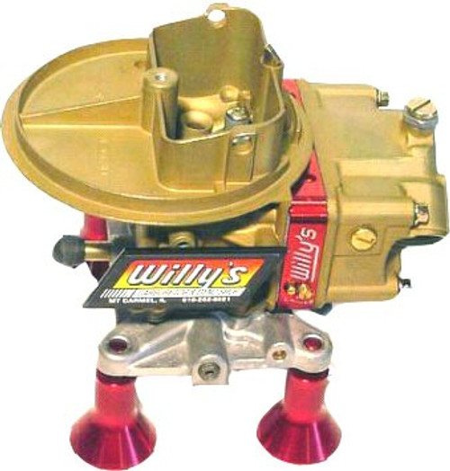 Willy's Carbs - 500 cfm 2 Barrel 4412 Carburetor - Willy's Carb